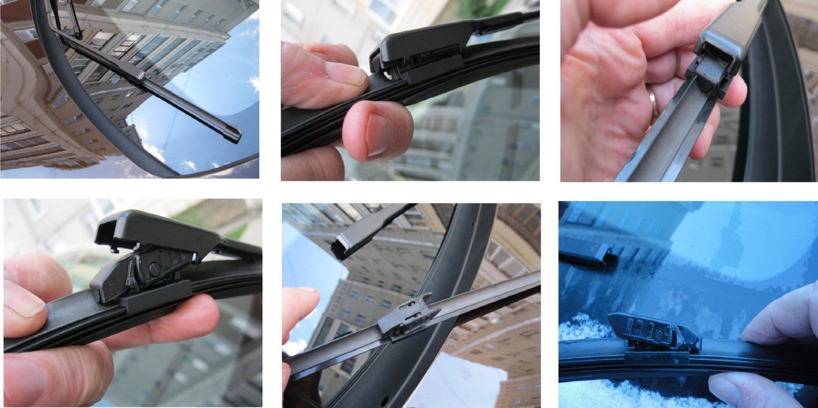 Замена щеток стеклоочистителя Renault Captur