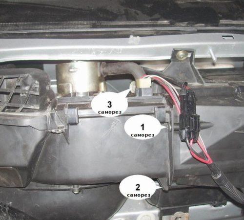 Замена радиатора печки ваз 2112, 2110, 21111 самостоятельно