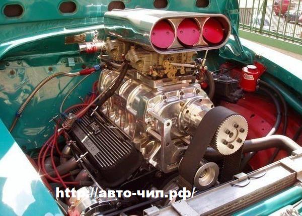 Компрессорный двигатель