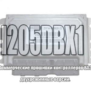 Двухрежимная версия I205DBX1 (21124-1411020-31/32)