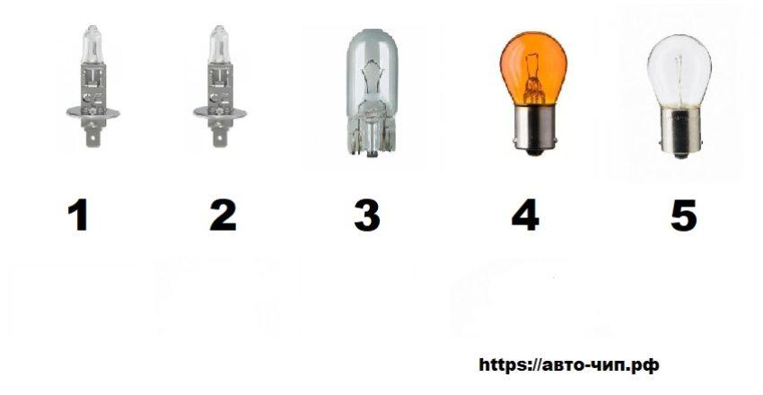 Лампы Renault Kaptur