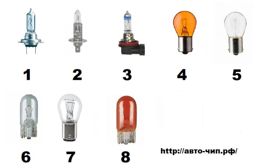 Лампы на Citroen C4