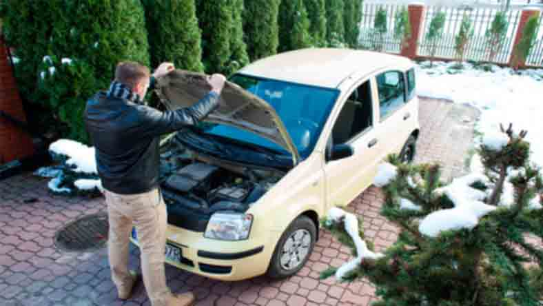 ремонт автомобиля зимних проблем