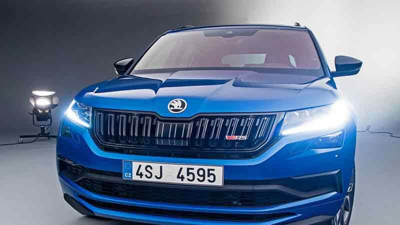 Skoda Kodiaq RS продажи в россии цена