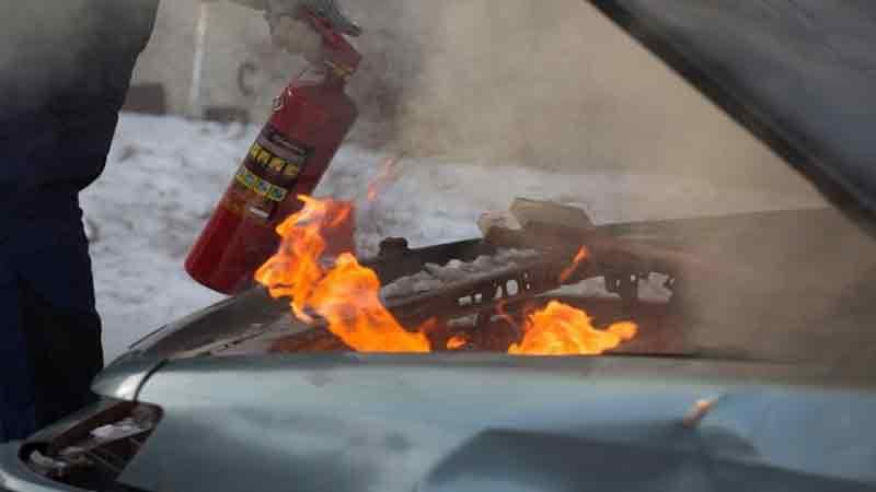 пожар автомобиль горит причины пожаров
