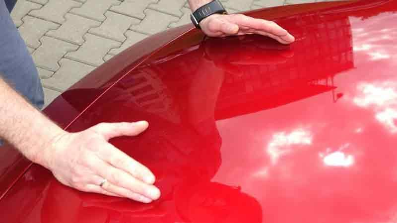 Удаление царапин без покраски на авто