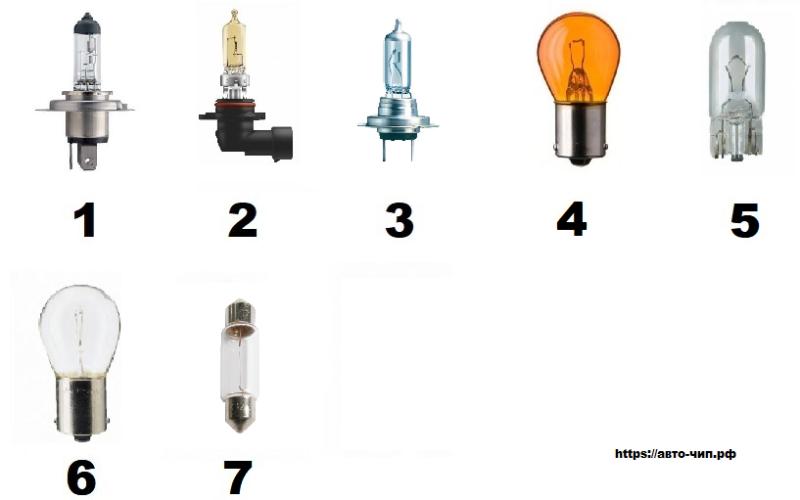 Лампы на Чери Тигго / Chery Tiggo