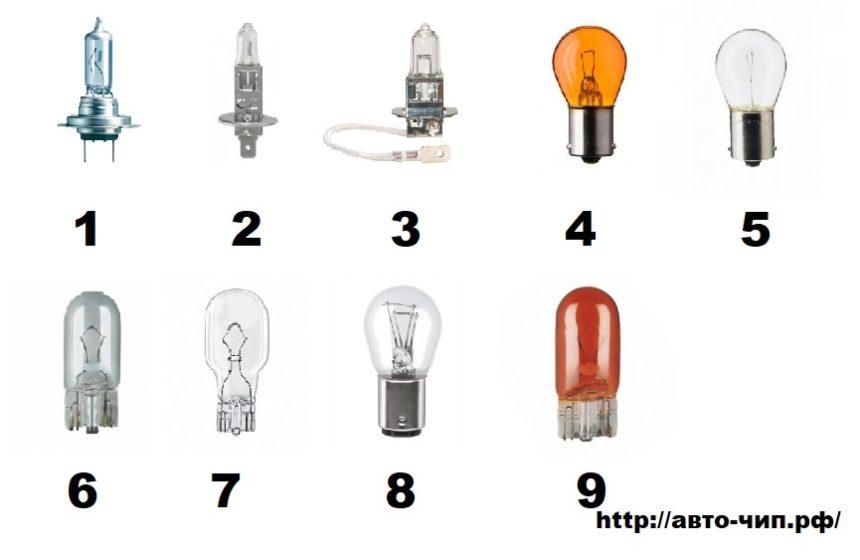 лампы чери