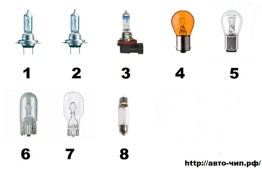 Лампы спортеж 3