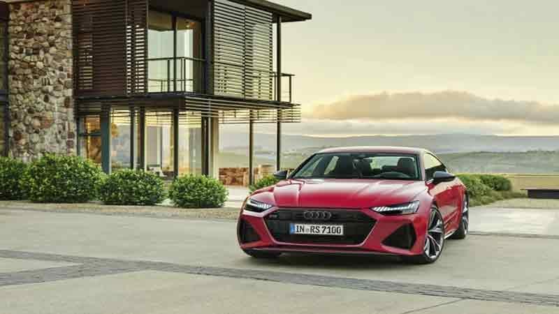 Новая Audi RS 7 Sportback 2020