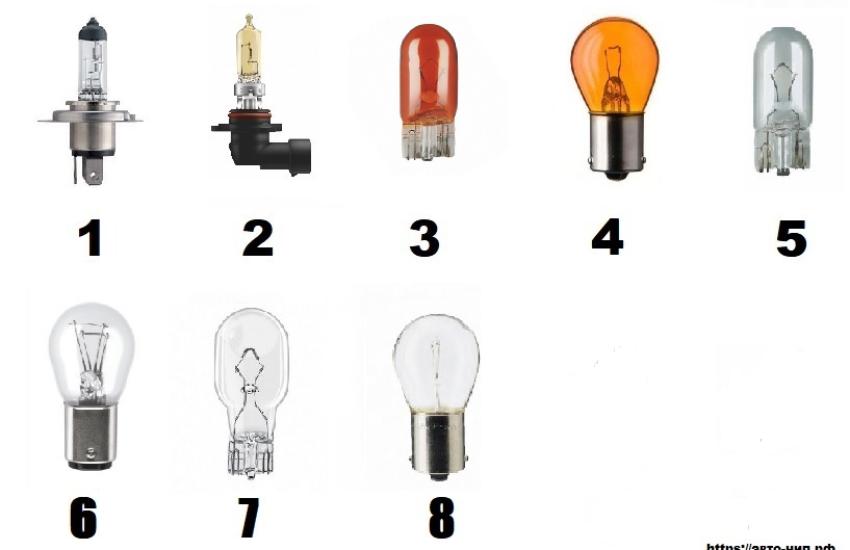лампы Киа пиканто