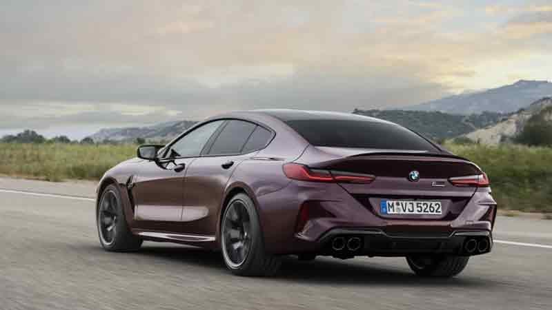Новый BMW M8 Gran Coupe — свыше 600 л.с. и 3,2 с до «сотни»