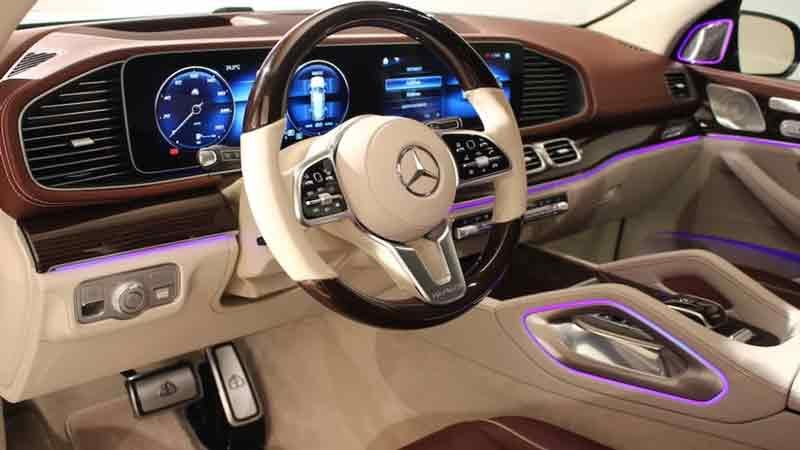 Мерседес Майбах / Mercedes Maybach GLS 2020