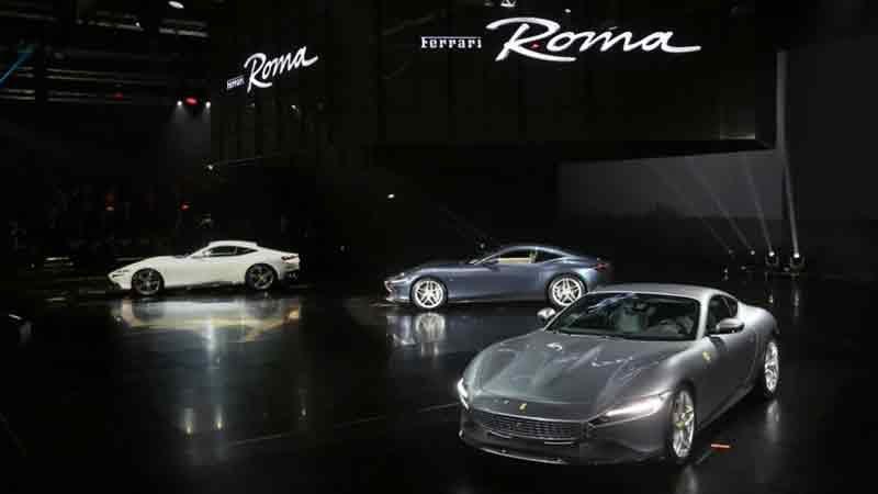Новая Ferrari Roma 2020 — магистерский дизайн