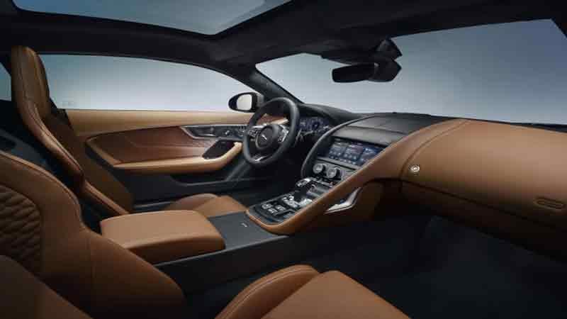 Новый Jaguar F-Type 2020 после фейслифтинга