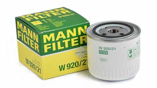 Фильтр масляный ваз 2108, 2110 МАНН артикул